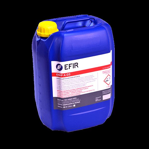 Кислотное моющее средство Efir A-03