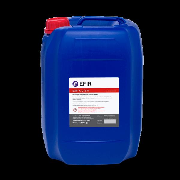 Кислотное моющее средство Efir A-01-СИП