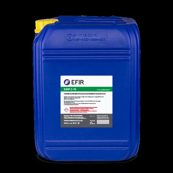 Щелочное моющее средство Efir C-15