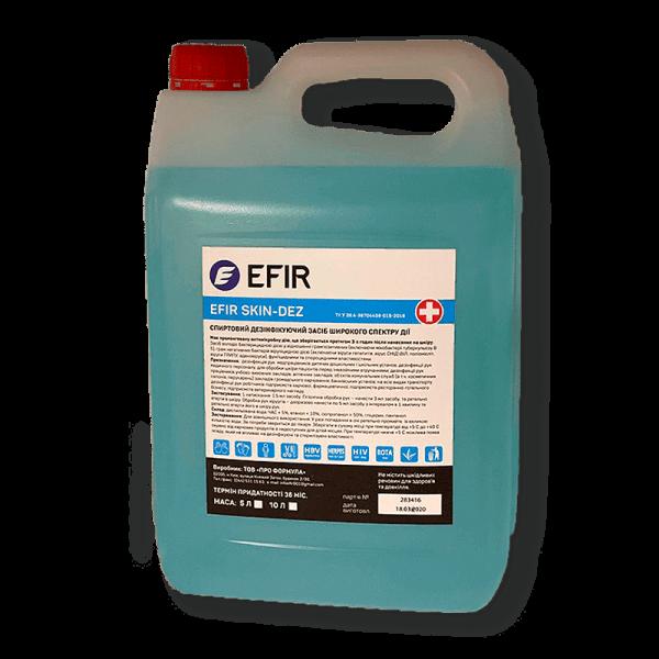 Антисептик - нейтральное моющее средство EFIR Skin-Dez